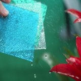 Het hoge Blad van het Polycarbonaat van PC van de Kleur van de Diamant van de Schokweerstand Vast lichaam In reliëf gemaakte