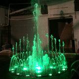 Fontana di acqua musicale dell'acciaio inossidabile della fontana di Dancing