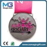 Medaglia corrente personalizzata di maratona del metallo