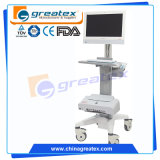 Endoscope-Laufkatze mit justierbarem Standplatz-/Medical-Laufkatze-Fußrollen-Rad (GT-WT06)