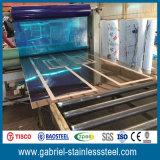 Peso de la hoja de metal del acero inoxidable del espesor de ASTM 304 1.0m m