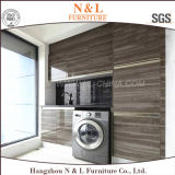 Customized Lacquer Door Mix MFC Carcase Laundry Cabinet