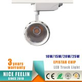 Epistarチップよい価格3yearsの保証25Wの穂軸LED Tracklight