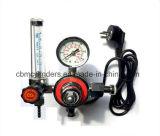 Calefacción eléctrica del regulador de presión de CO2