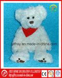 Urso macio da peluche do luxuoso quente da venda para o feriado do Natal
