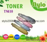 Cartucho de toner de la copiadora del color Tn610 para Konica Minolta Bizhub C6500