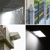 Luz Emergency impermeable de la lámpara de pared de la luz 48LED de Sunnysam de la energía solar PIR de movimiento de la seguridad al aire libre solar LED del sensor