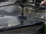 半自動石造りのポリッシャ機械ガラスの磨くか、または粉砕機