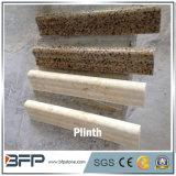 Marmo e granito di pietra naturali per il blocco per grafici di portello e del Plinth