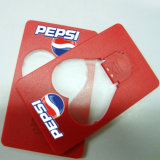Горячий выдвиженческий напечатанный свет кредитной карточки подарков СИД с логосом (4017)