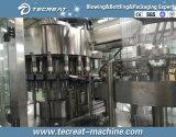 Machine recouvrante remplissante de lavage automatique de Tribloc de l'eau de bouteille 5L
