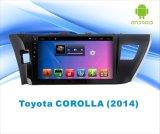 Androïde GPS DVD van de Auto van het Systeem voor de Bloemkroon 2014 van Toyota het Scherm van de Aanraking van 10.1 Duim met Bluetooth/TV/MP4