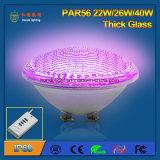 IP68 het dikke RGB LEIDENE PAR56 van het Glas 40W Licht van de Pool