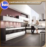 キャビネット(紫外線終了する)のための新しい光沢のあるカスタマイズされたモジュラー木製の台所家具