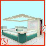 Unidad cosmética de madera del soporte de visualización para la tienda al por menor