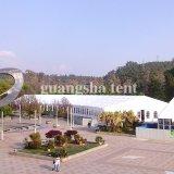 De duidelijke Tent van de Gebeurtenis van de Tentoonstelling van de Spanwijdte Waterdichte Grote met de Muren van het Glas