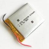 polimero 453438 del litio della batteria ricaricabile di 3.7V 610mAh Li-Po per la macchina fotografica DVD del telefono mobile del rilievo del MP3 GPS PSP
