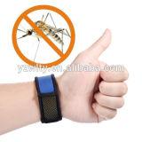 Velcro repugnante de la pulsera del mosquito para la actividad del aire libre