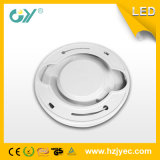 Plástico 6000k 18W LED Downlight con el Ce RoHS