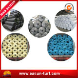 Césped artificial al aire libre del sintético de la alfombra de la hierba del paisaje barato