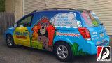 Kundenspezifischer Vinylfahrzeug-Aufkleber Graphics Printing Van Car Wrap (WRP-02)