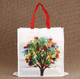 Fördernder Geschenk-nicht gesponnener Gewebe-faltender Beutel, mehrfachverwendbare Einkaufstasche