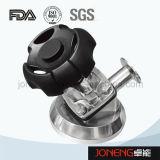 Válvula de diafragma de tipo manual sanitario de acero inoxidable con drenaje (JN-DV1002)
