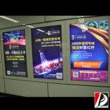 Caja de luz estación de metro poster promoción pública (LIT-06)