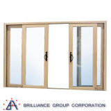 Puerta deslizante del vidrio Tempered del doble del fabricante de Shangai