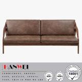 Mobília de madeira da sala de visitas ajustada moderna do sofá da faia do carvalho da noz