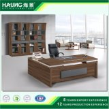 Mobília de escritório moderna com a mesa de escritório do projeto da placa de painel do MDF