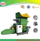 La fusión caliente del poliestireno de la espuma de poliestireno EPS de la espuma de la tarjeta del desecho inútil del bloque recicla la máquina del compresor