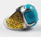 3D Ring van het Kampioenschap van de Arduinsteen van het Roestvrij staal van het Ontwerp Naar maat gemaakte voor Mensen