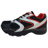 Chaussures de sport avec chaussures à injection en PVC (S-0164)