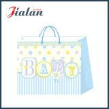 Подгоняйте с 3D & мешками подарка несущей покупкы младенца яркия блеска бумажными