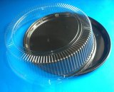 Estilos al por mayor de la fábrica diversos del empaquetado plástico de la torta redonda disponible
