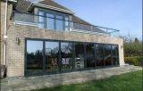 2016 Form-Entwurfs-Aluminiumglasfalz-Türen