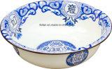 Ретро китайский тазик тарелки тазика мытья эмали декора Traditonal