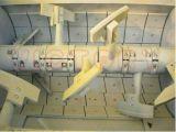 Mezclador concreto Js500 para la producción del panel de pared y de losa ligeros prefabricados de la base de la depresión