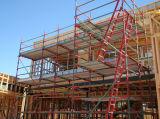 De nieuwe Ladder van de Toren van de Steiger van het Aluminium van de Stijl Mobiele Telescopische in Steiger
