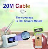 Trabajo móvil de /Repeater del aumentador de presión de la señal de Aws1700 megaciclo para 3G 4G con la visualización del LCD + la antena del Yagi