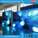 High Waterproof IP65 Outdoor P8 Full Color Rental Screen LED TV