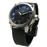 Reloj de encargo del asunto del cuarzo de gama alta del acero inoxidable