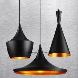 Estilo industrial retro na iluminação de alumínio americana da lâmpada do pendente