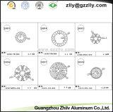 광저우 Zhilv 알루미늄 단면도 밀어남 열 싱크 또는 방열기 또는 냉각기 또는 열 싱크