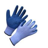 Gants de travail en sécurité recouverts de latex en gel de 10 g Polyester