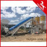 Tipo planta concreta estacionária 60m3 da correia da capacidade de produção da alta qualidade