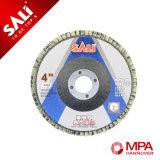 Disco flexible de la solapa del óxido de aluminio del color rojo
