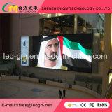 Parete piena dell'interno dello schermo di colore LED di P5 HD video//segno per fare pubblicità