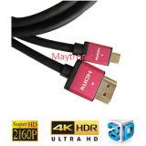 Cable del artículo 2.0 HDMI de la alta calidad